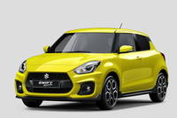 Suzuki Swift Sport: la prima immagine