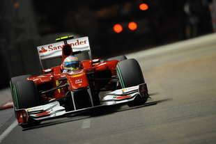 alonso vince il gp singapore 2010