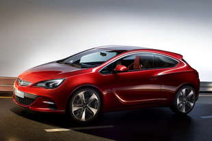 opel gtc paris astra coupe