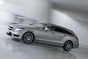 mercedes cls shooting brake 63 amg