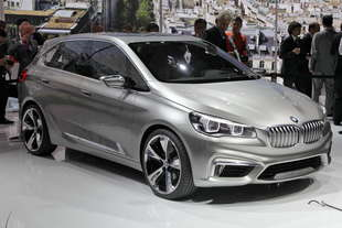 bmw active tourer parigi 2012