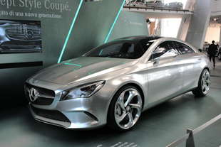 mercedes concept style milano