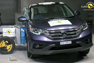 crash test honda cr v e citroen c4 picasso