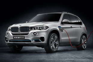 francoforte bmw x5 ibrida
