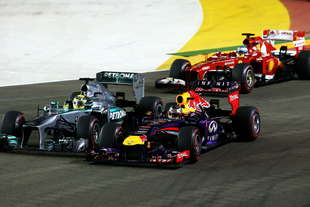 formula 1 gp singapore risultato gara dominio vettel classifica mondiale 2013 e calendario