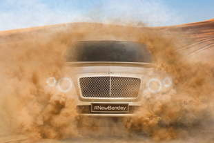bentley suv una prima anticipazione