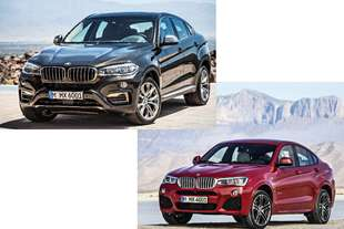 bmw x4 e x6 stili a confronto