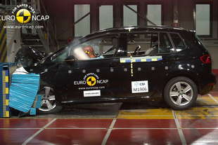 crash test euroncap golf sportsvan megane tourneo courier