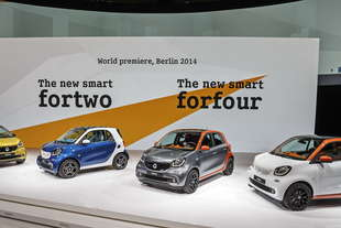 tutto sulle nuove smart fortwo forfour 2015