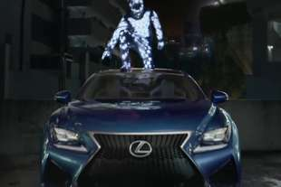 lexus rc spot amazing motion