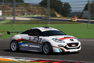 peugeot rcz r cup video vallelunga
