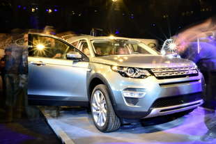 land rover discovery sport debutto
