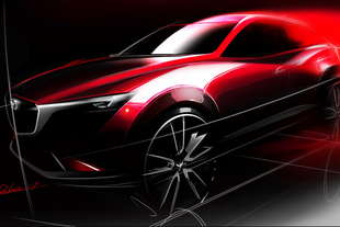 mazda cx 3 los angeles il debutto