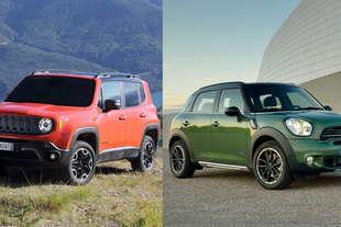 confronto prezzi jeep renegade mini countryman