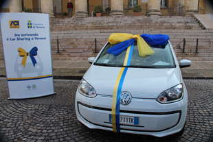 parte verona il car sharing dell aci