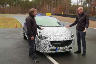 opel corsa opc il video teaser