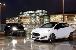 ford fiesta e ka Black and White Edition