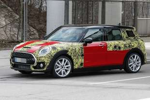 mini clubman 2015 spy