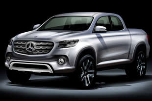 mercedes pick up 2020
