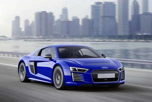 audi r8 e tron piloted driving