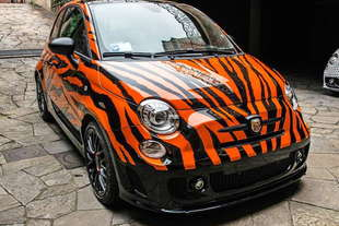 abarth 595 tiger Garage Italia Customs