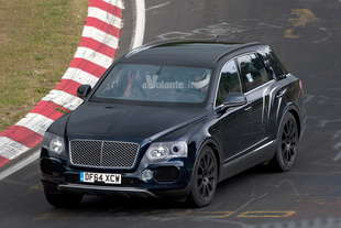 bentley bentayga 2016 spy