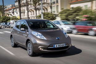 nissan leaf 2016 autonomia aumenta 250 km