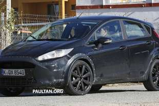 ford fiesta 2017 spy