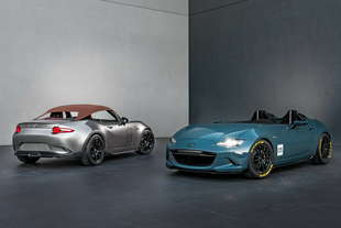 mazda due concept base mx 5 al sema