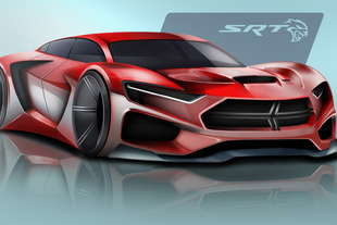 studenti immaginano dodge srt hellcat del 2025