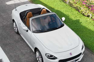 fiat 124 spider differenze mazda mx 5