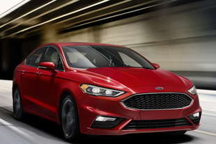 ford fusion mondeo restyling 2016