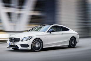 mercedes amg c43 coupe