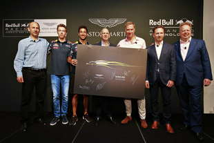 aston martin e red bull insieme una coupe supersportiva