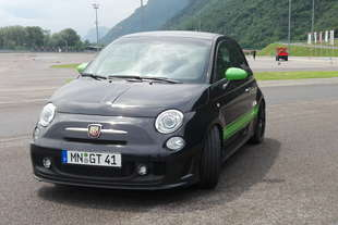 g tech abarth 500 ibrida e integrale