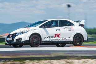 honda civic type r record in 5 circuiti europei