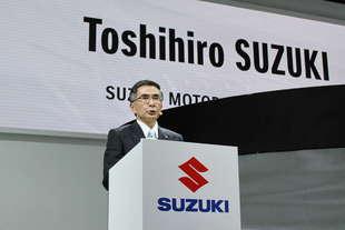 Toshihiro Suzuki nuovo ceo della suzuki