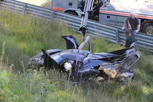 incidente koenigsegg nel tentativo record al nurburgring