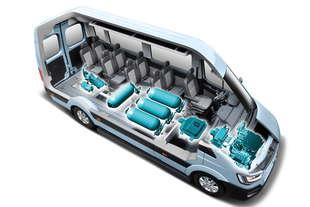 hyundai h350 concept il furgone fuel cell