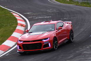chevrolet camaro zl1 2016 nurburgring video