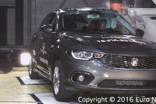 crash test euroncap fiat tipo 3 o 4 stelle