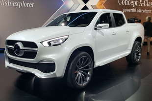 mercedes concept x class pick up