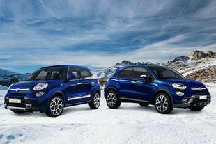 fiat 500l e 500x winter edition