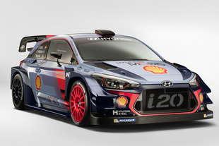 hyundai i20 coupe wrc rally 2017