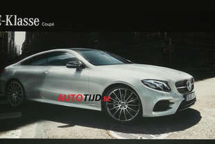 mercedes e coupe 2017 spy