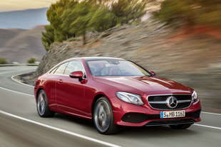 mercedes e coupe 2017
