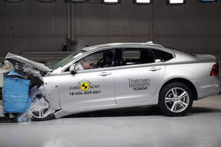crash test euroncap volvo s90 v90 ford mustang