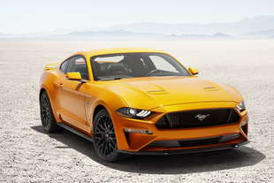 ford mustang restyling 2017