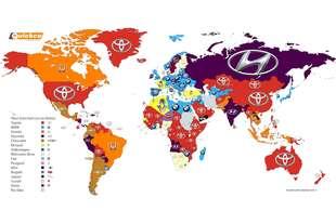 mappa dei marchi piu cercati internet 2016