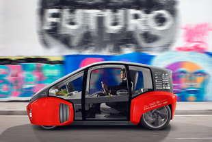 zf Intelligent Rolling Chassis piattaforma city car elettriche